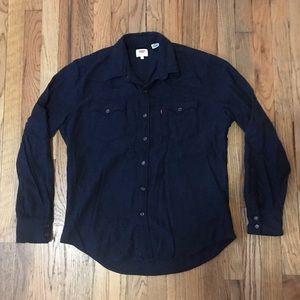 Levi's Wool Button Down Shirt